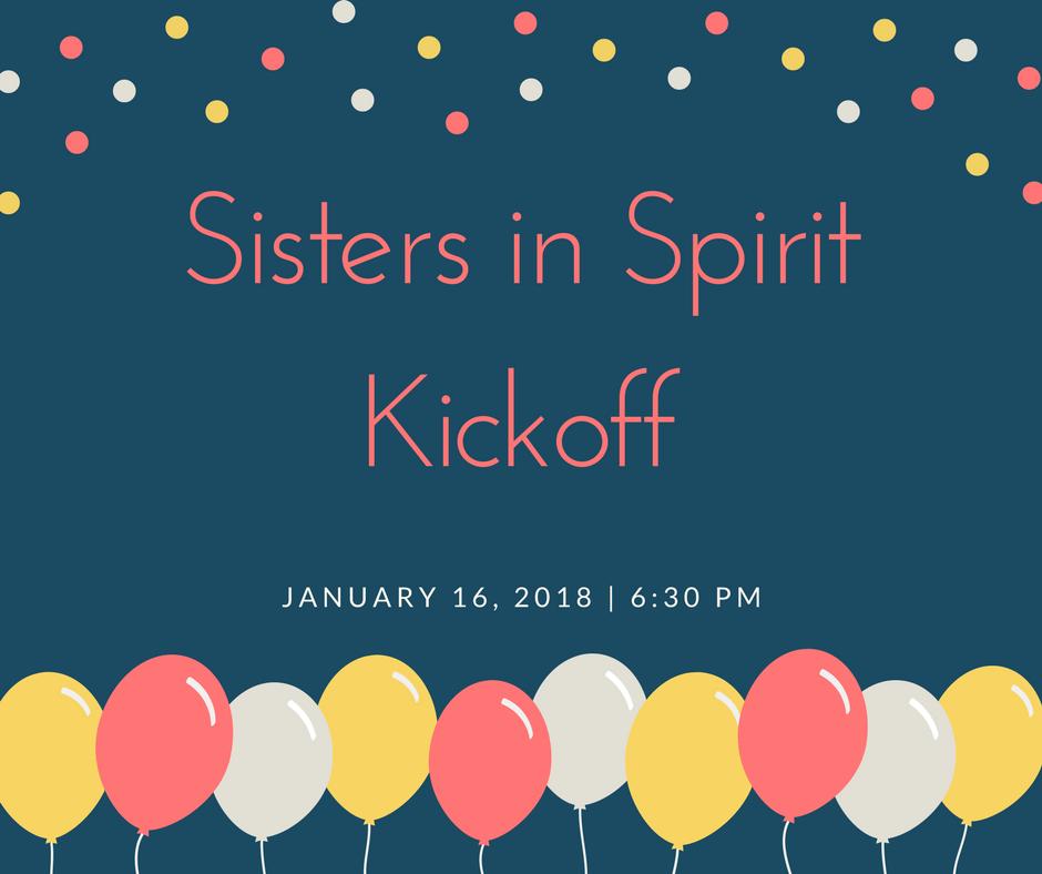 Sisters In Spirit Kickoff