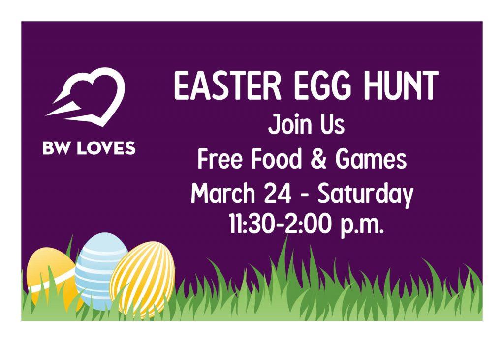 Easter Egg Hunt - March 24, 2018